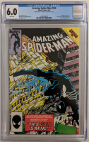 """1985 """"The Amazing Spider-Man"""" Issue #268 Marvel Comic Book (CGC 6.0) at PristineAuction.com"""