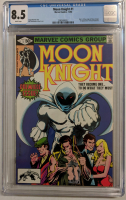 "1980 ""Moon Knight"" Issue #1B Marvel Comic Book (CGC 8.5) at PristineAuction.com"