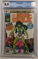 """1980 """"The Savage She-Hulk"""" Issue #1 Marvel Comic Book (CGC 8.0) at PristineAuction.com"""