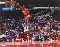 Dominique Wilkins Signed Hawks 11x14 Photo (Becket Hologram) at PristineAuction.com