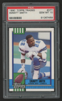 Emmitt Smith 1990 Topps Traded #27T RC (PSA 10) at PristineAuction.com
