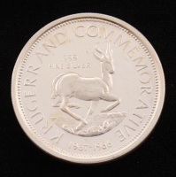 Vintage Krugerrand Commemorative 1 Ounce .999 Fine Silver Bullion Round at PristineAuction.com