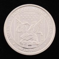1 Troy Ounce .999 Fine Silver Bullion Round at PristineAuction.com
