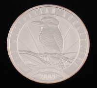 2009 Canada $1 One Dollar Kookaburra .999 Fine Silver Bullion Round at PristineAuction.com