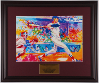"LeRoy Neiman ""Ted Williams Boston Red Sox"" 19x22.5 Custom Framed Print Display at PristineAuction.com"