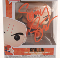 "Sonny Strait Signed ""Dragon Ball Z"" Krillin #706 Funko Pop! Vinyl Figure (Beckett COA) at PristineAuction.com"