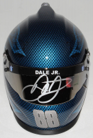 Dale Earnhardt Jr. Signed NASCAR Nationwide 1:3 Scale Mini-Helmet (Dale Jr. Hologram) (See Description) at PristineAuction.com