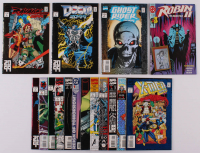 Lot of (16) Assorted Issue #1 Comic Books with Spider-Man 2099, X-Men 2099, Gambit, Robin II, Ghost Rider 2099 at PristineAuction.com