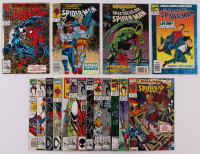 Lot of (17) Assorted Marvel Comic Books with Spider-Man, The Amazing Spider-Man, The Spectacular Spider-Man at PristineAuction.com