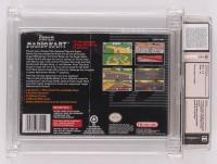 "1992 ""Super Mario Kart"" Super Nintendo Video Game (Wata Certified 9.0) at PristineAuction.com"