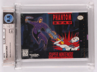 "1991 ""Phantom 2040"" Super Nintendo Video Game (Wata Certified 8.5) at PristineAuction.com"