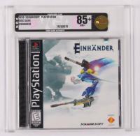 "1998 ""Einhander"" PlayStation Video Game (VGA 85) at PristineAuction.com"