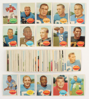 Complete Set of (132) 1960 Topps Football Cards with #1 Unitas & #23 Jim Brown at PristineAuction.com