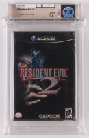 "1998 ""Resident Evil 2"" Nintendo Gamecube Video Game (Wata Certified 7.5) at PristineAuction.com"