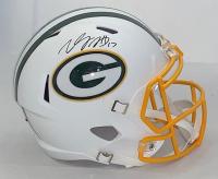 Davante Adams Signed Packers Full-Size Matte White Speed Helmet (JSA COA) at PristineAuction.com