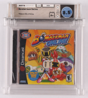 "2003 ""Bomberman Online"" Sega Dreamcast Video Game (Wata Certified 8.5) at PristineAuction.com"