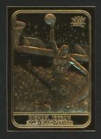 Michael Jordan 1997 Fleer 23KT Gold Card '86 Rookie at PristineAuction.com