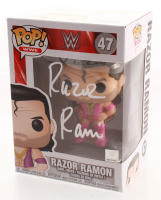 Scott Hall Signed WWE Razor Ramon #47 Funko Pop! Vinyl Figure (Pro Player Hologram) at PristineAuction.com