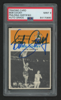 Bob Cousy Signed 1961-62 Fleer #49 In Action (PSA Encapsulated) at PristineAuction.com