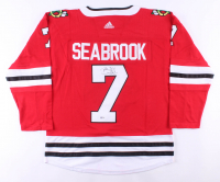 Brent Seabrook Signed Blackhawks Jersey (Beckett COA) at PristineAuction.com