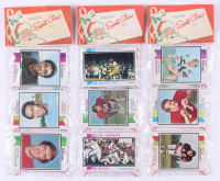 Lot of (3) 1973 Topps Football Unopened Christmas Rack Packs with (12) Cards Each at PristineAuction.com