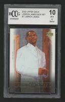 LeBron James 2003 Upper Deck LeBron James Box Set #7 / High School Superstar (BCCG 10) at PristineAuction.com