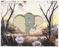 "Walt Disney's ""Dumbo"" LE 11x14 Animation Serigraph Cel at PristineAuction.com"