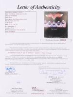 "Aerosmith ""Rocks"" Vinyl Record Cover Band Signed by (5) with Steven Tyler, Tom Hamilton, Joey Kramer, Joe Perry, & Brad Whitford (JSA LOA) at PristineAuction.com"