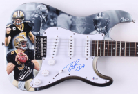 Drew Brees Signed Saints Electric Guitar (Beckett COA) at PristineAuction.com