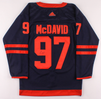 Connor McDavid Signed Oilers Captain's Jersey (JSA ALOA) at PristineAuction.com