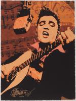 "Joe Petruccio Signed Elvis Presley ""Memphis Sun"" 15.5x21 AP Giclee (PA LOA & Petruccio COA) at PristineAuction.com"