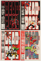 "Lot of (4) 1993 ""Deadpool"" Marvel Comic Books at PristineAuction.com"