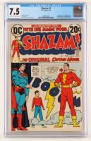 "1973 ""Shazam! The Original Captain Marvel"" Issue #1 DC Comic Book (CGC 7.5) at PristineAuction.com"
