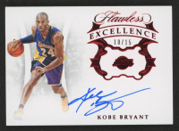 Kobe Bryant 2018-19 Panini Flawless Excellence Signatures Ruby #2 at PristineAuction.com