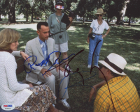 "Tom Hanks, Robert Zemeckis & Robin Wright Signed ""Forrest Gump"" 8x10 (PSA LOA) at PristineAuction.com"
