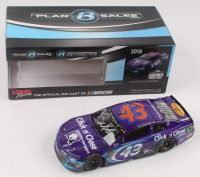 """Darrell """"Bubba"""" Wallace Jr. Signed LE NASCAR #43 Click N Close Daytona 500 Race Version Autographed 2018 Camaro ZL1 -1:24 Scale Die Cast Car (RCCA COA) at PristineAuction.com"""