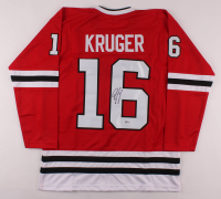 Marcus Kruger Signed Jersey (Beckett COA) at PristineAuction.com