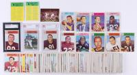 Near Set (197/198) of 1966 Philadelphia Football Cards with #24 Unitas, #28 Atkins (BVG 5), #31 Butkus RC, #32 Ditka (SGC 40 VG), #38 Sayers RC (BVG 5.5 EX+), #41 J. Brown at PristineAuction.com
