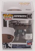 Deion Sanders Signed Cowboys #92 Funko Pop! NFL Vinyl Figure (Beckett COA) at PristineAuction.com