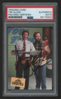 Tim Allen & Richard Karn Signed 1994 Home Improvement #S1 Tim Taylor & Al Borland (PSA Encapsulated) at PristineAuction.com