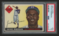 Jackie Robinson 1955 Topps #50 (PSA 5) at PristineAuction.com