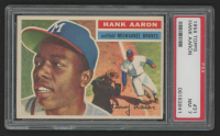 Hank Aaron 1956 Topps #31 (PSA 7) at PristineAuction.com