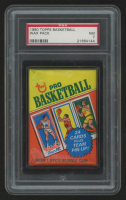 1980 Topps Basketball Unopened Wax Pack (PSA 7) at PristineAuction.com