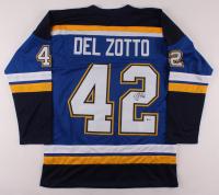 Michael Del Zotto Signed Jersey (Beckett COA) at PristineAuction.com