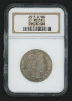 1915-D 50¢ Barber Half-Dollar (NGC AU 53) at PristineAuction.com