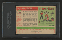 Sandy Koufax 1955 Topps #123 RC (SGC 7) at PristineAuction.com