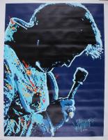"Joe Petruccio Signed Elvis Presley ""Play It James"" 32.5x42 LE Giclee (Petruccio COA) at PristineAuction.com"