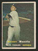 Mickey Mantle 1957 Topps #95 at PristineAuction.com