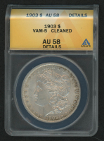 1903 Morgan Silver Dollar, VAM-5 (ANACS AU58 Details) at PristineAuction.com