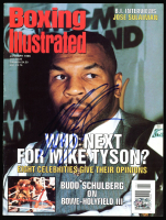 Mike Tyson Signed 1996 Boxing Illustrated Magazine (PSA COA) at PristineAuction.com